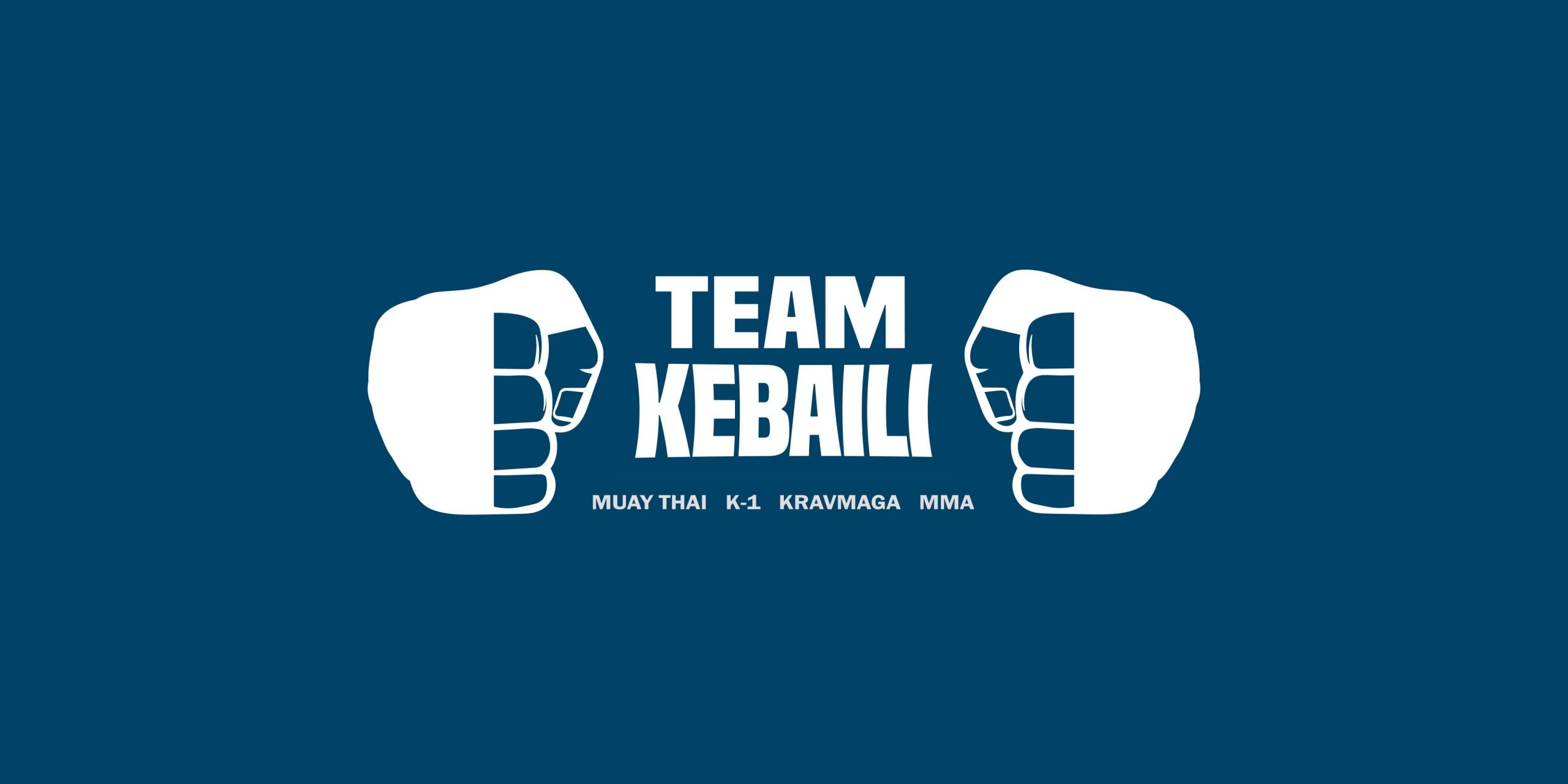 Logo team kebaili, club de boxe