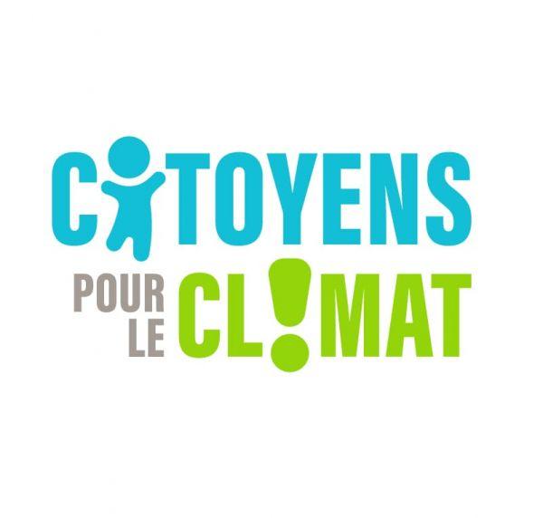 Logo citoyens pour le climat réalisé par Chloé Marché graphiste à Belfort