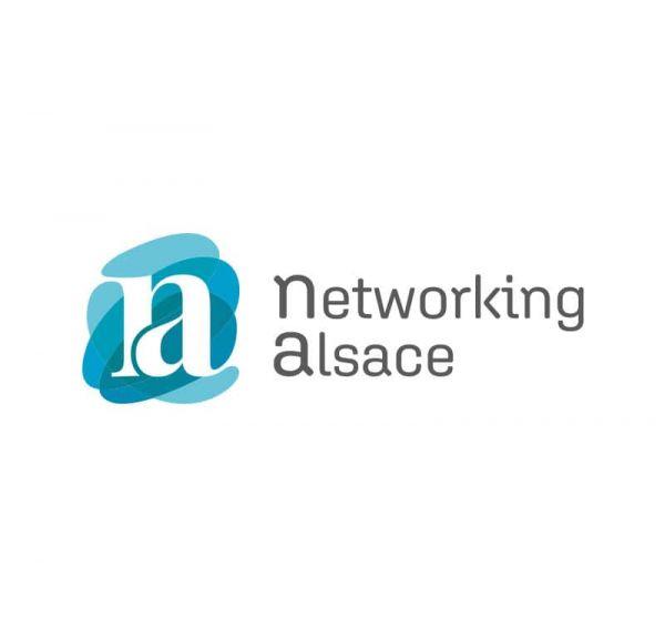 Logo Networking Alsace réalisé par Chloé Marché