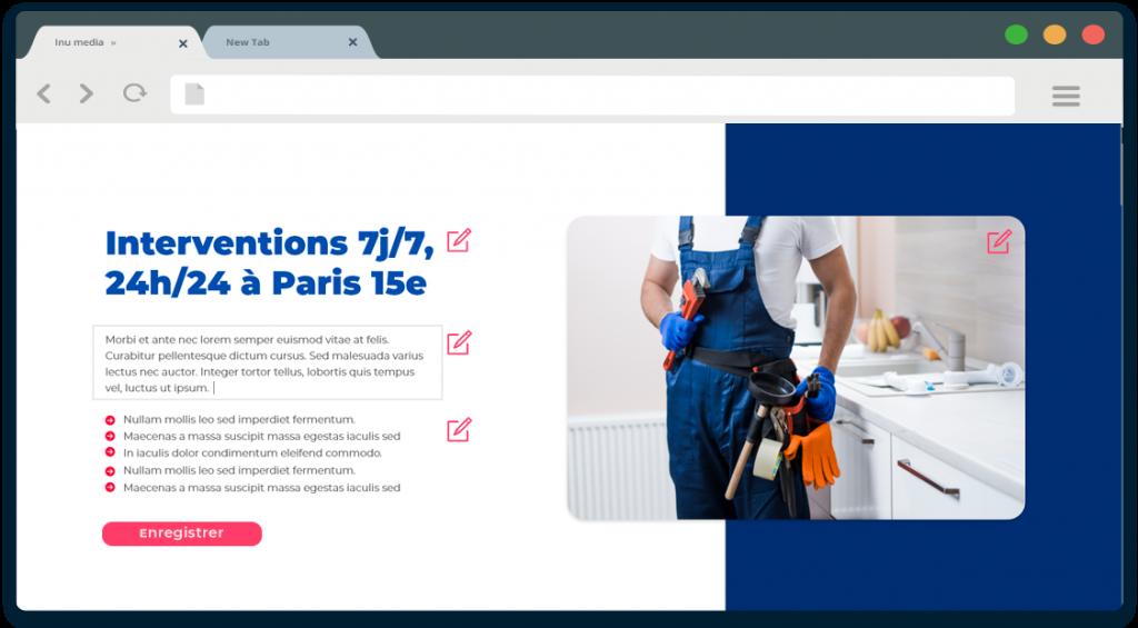 Maintenance de contenu par Inu Média créateur de site internet en Franche Comté