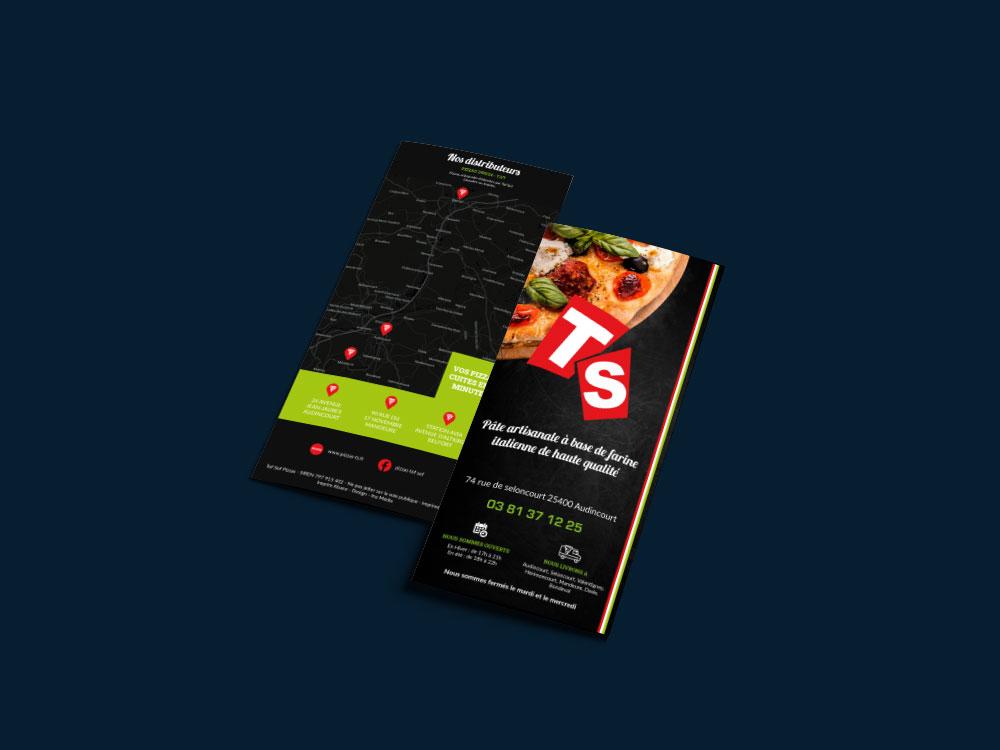 Flyer Pizzas TS par Inu Media